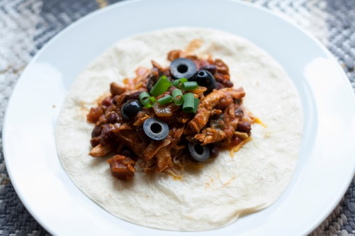 Crockpot Blackbean Chicken Taco